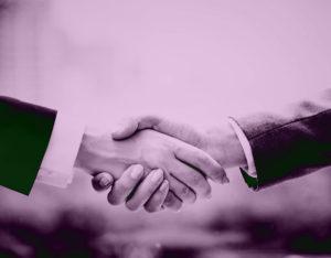 formal handshake , επίσημη χειραψία
